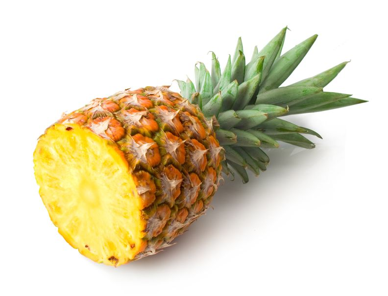 Half of a Pineapple