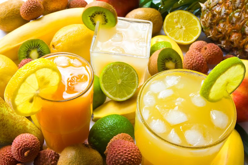 Fruit Juice And Whole Fruit