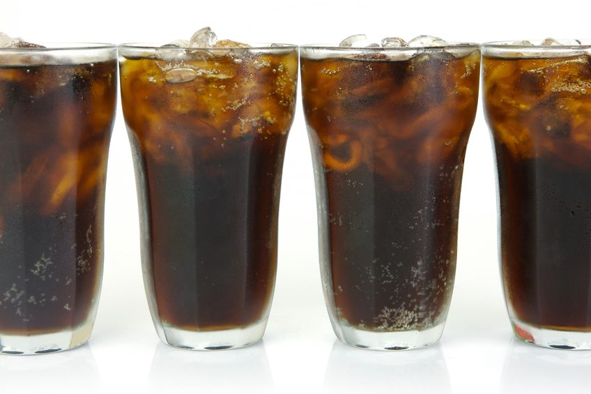 4 Glasses of Pepsi