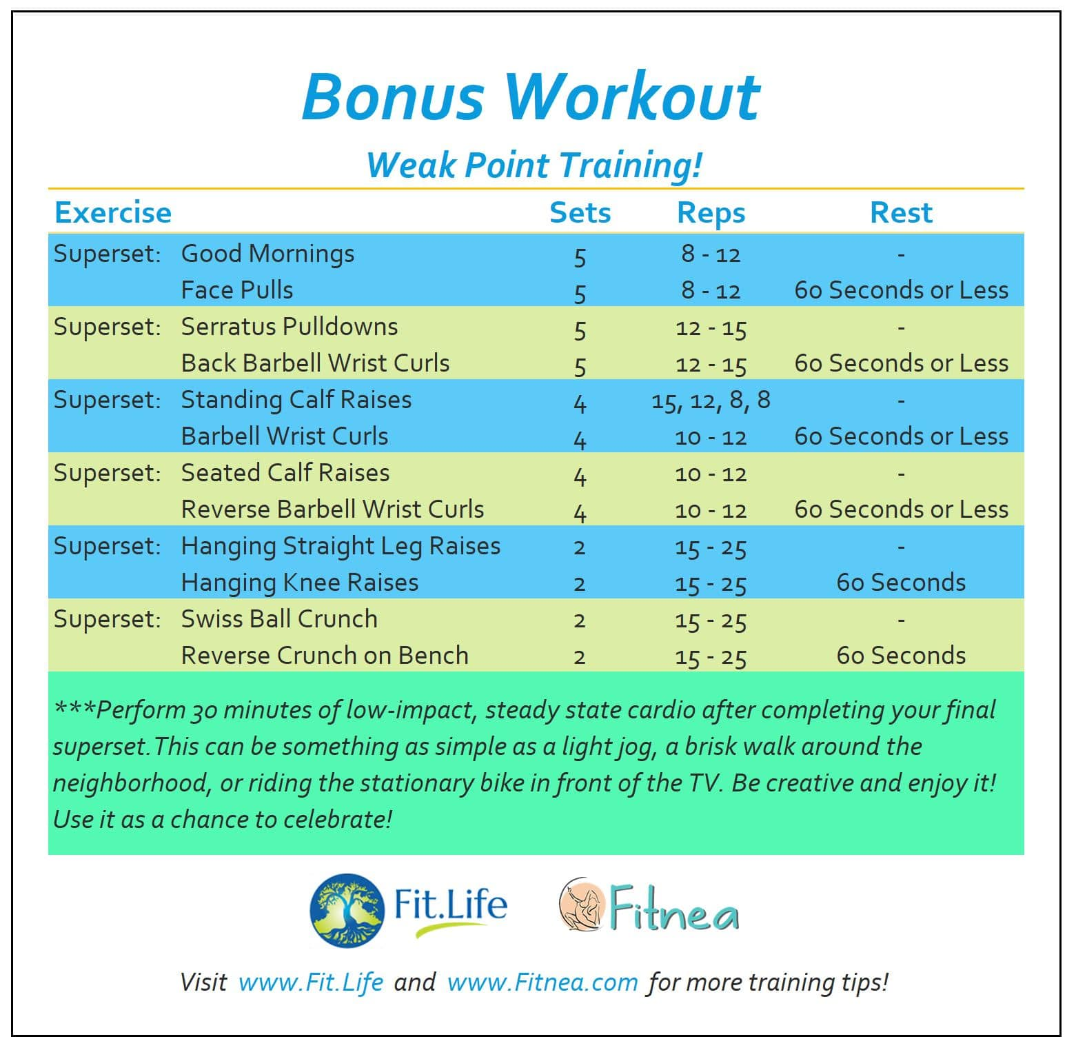 Bonus Workout